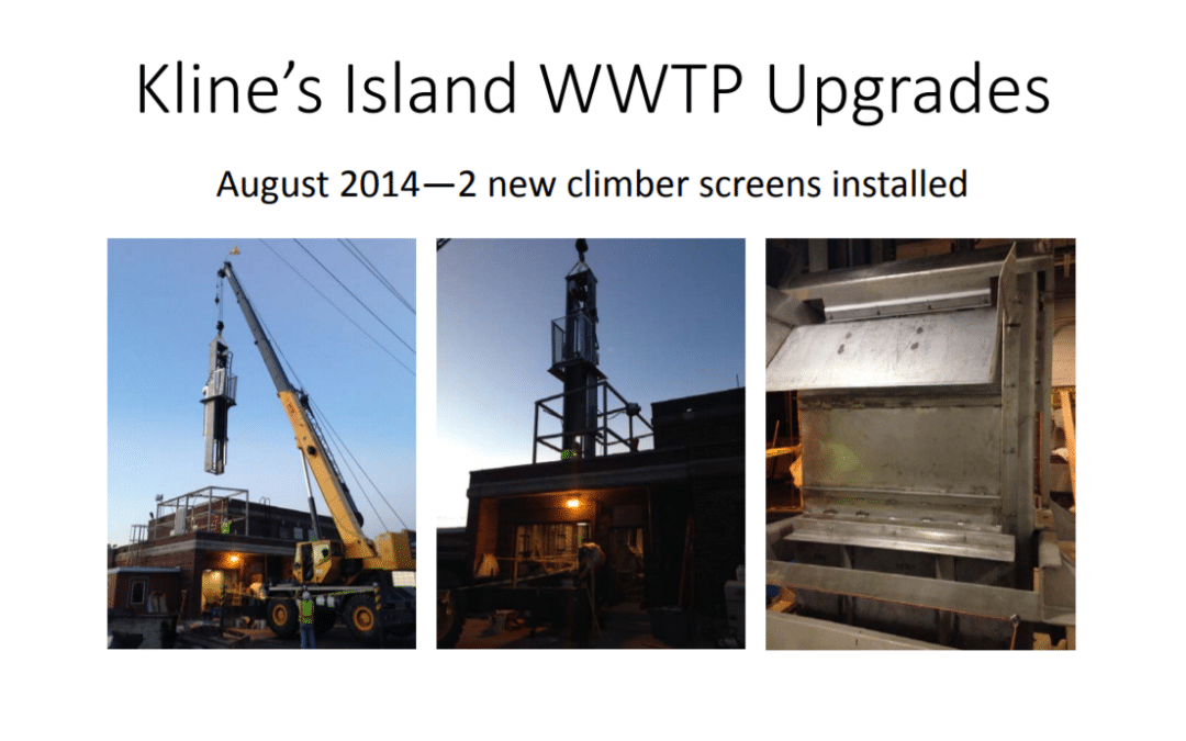 Klines Island WWTP Upgrades