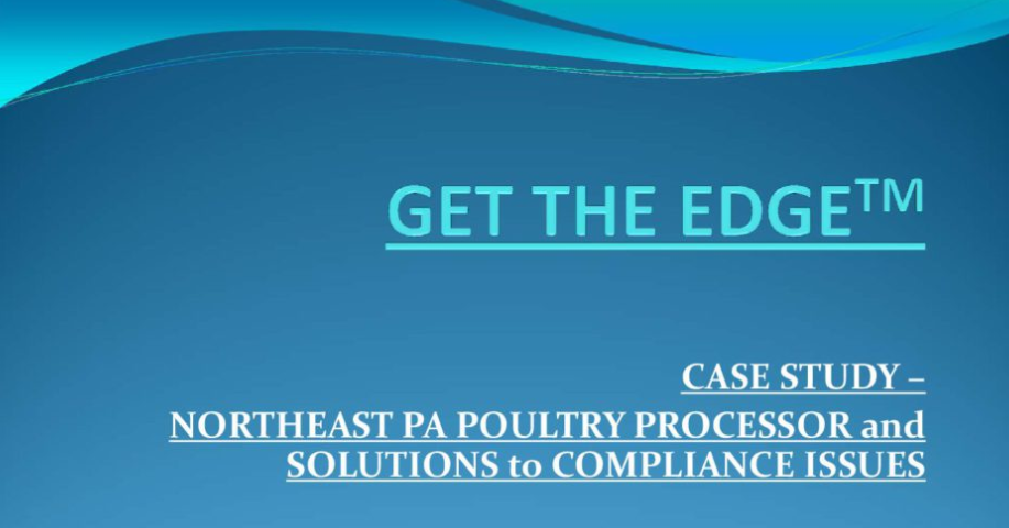 Get The Edge: Solutions to Compliance Issues