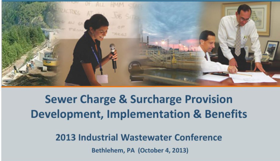 Sewer Charge & Surcharge Provision: Development, Implementation, & Benefits
